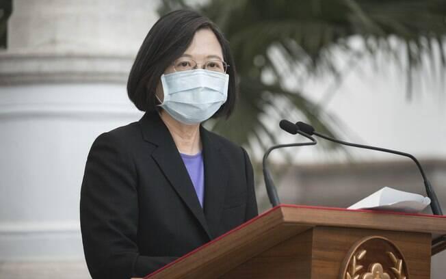 Tsai Ing-wen lidera o Taiwan, país que tem apenas sete mortos por Covid-19