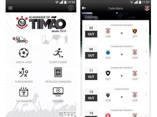 Aplicativo Almanaque do Timão reúne dados de mais de 5.400 jogos, 1.300 jogadores e 110 técnicos do Corinthians desde 1910. Disponível para Android e iOS gratuitamente