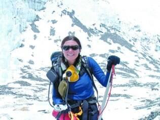 Pioneira. A médica Ana Boscarioli é a primeira brasileira a escalar os sete maiores cumes do mundo