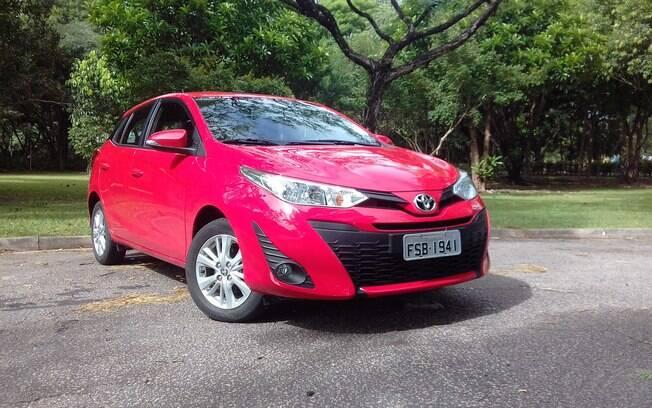 Toyota Yaris também irá entrar na era dos híbridos no Brasil, assim como acaba de acontecer com o Corolla
