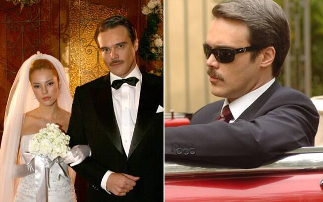 Clóvis (Dalton Vigh) se casa com Sônia (Paola Oliveira) e passa a bater na esposa, em