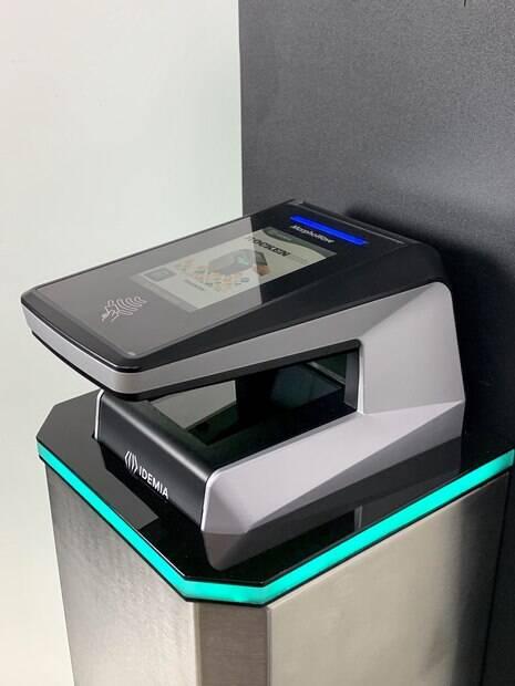 totem de biometria