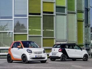 Veículos - 16/07/2014 - Smart lança nova geração do ForTwo e do ForFour