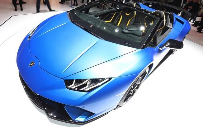 Lamborghini Huracán Spyder Performante:  631 cavalos de potência e baixo peso para o máximo de desempenho