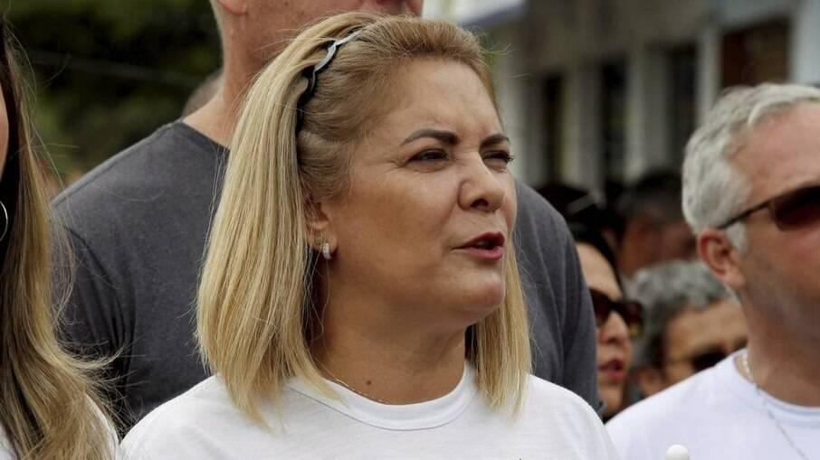 Ana Cristina Siqueira Valle, segunda ex-mulher de Bolsonaro
