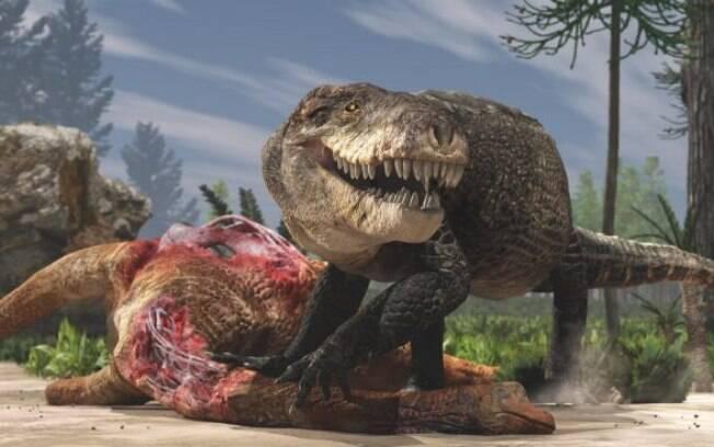 """Um dos maiores predadores do período Jurássico não era um dinossauro, mas, sim, uma espécie de """"crocodilo gigante esmagador de ossos"""""""