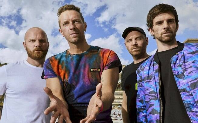 """Coldplay: """"Music Of The Spheres"""" alcança o topo das paradas no Reino Unido"""