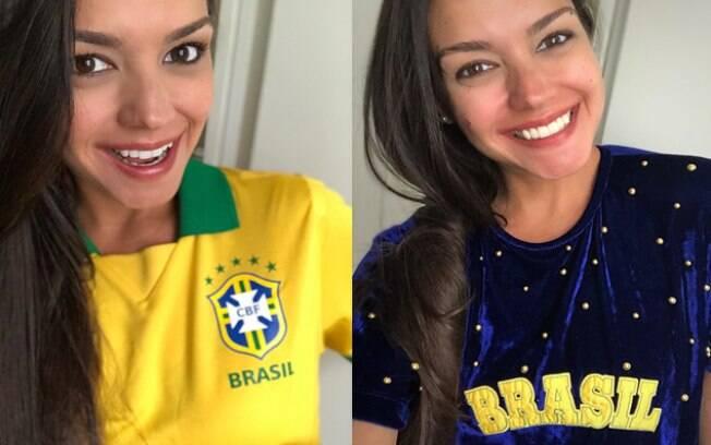 Thaís Fersoza está empolgada com a Copa do Mundo
