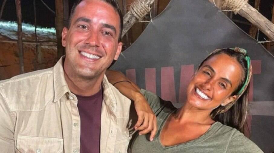 Carol Peixinho e André Marques podem estar vivendo affair
