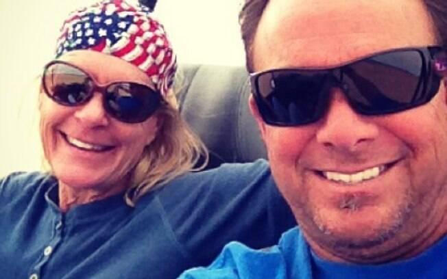 Marty Smith e sua esposa%2C Nancy%2C morreram após acidente de buggy