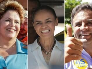 Dilma tem 39%, Marina, 25%, e Aécio