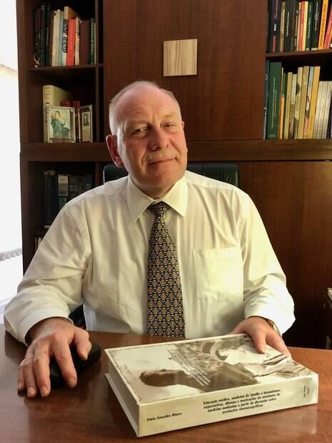 O professor doutor Pablo Gonzalez Blasco