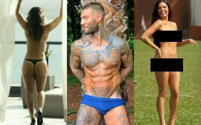 Os famosos pelados de 2018: confira as celebridades que tiveram nudes vazados este ano