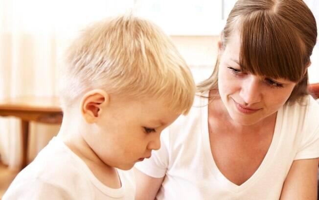 Diante de uma situação de frustração, mostre empatia e aponte soluções à criança