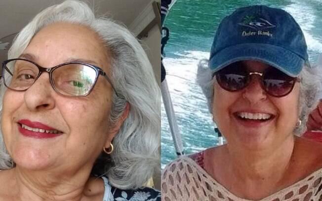 Suely Mello diz que transição foi dura, mas hoje aceita seus fios grisalhos e gosta do que vê quando se olha no espelho
