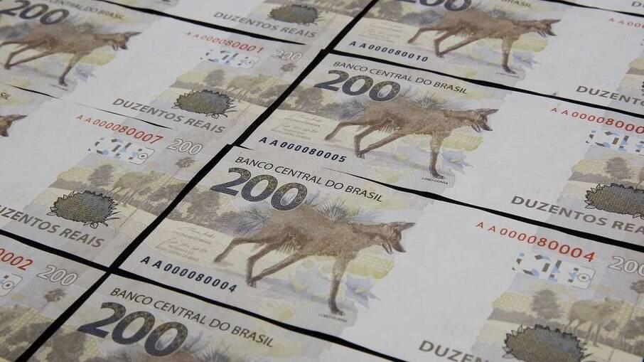 Nota de R$ 200 tem demanda menor que a esperada