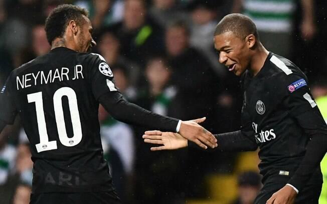 Neymar e Mbappé não foram cortados de suas seleções