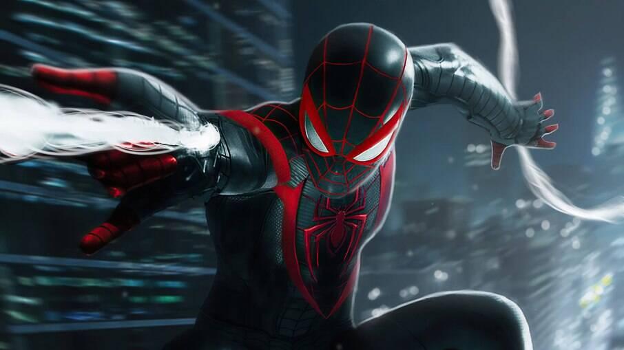 Cena do jogo Spider-Man: Miles Morales