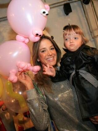 Ticiane Pinheiro e a filha, Rafaella