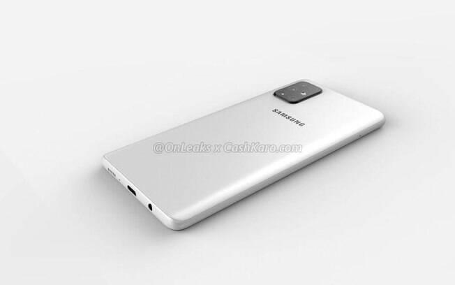 O Galaxy A71 deve ter quatro câmeras traseiras