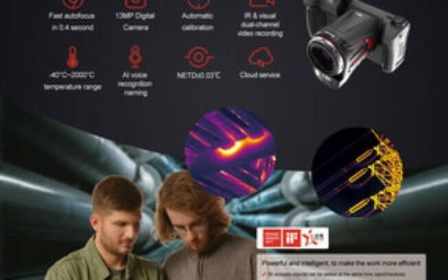 Guide Sensmart lança câmera térmica de alto desempenho alimentada por IA para agilizar inspeções industriais