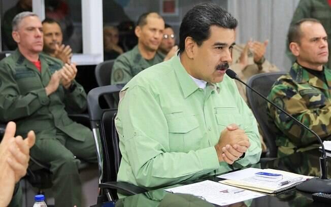 O regime de Nicolás Maduro se apoia na lealdade dos militares para se manter no controle