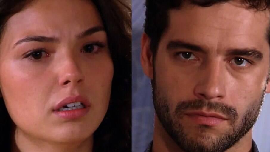Marcela e Renato de