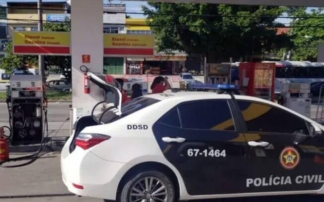 Carro da Polícia Civil do Rio de Janeiro