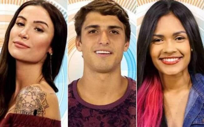 Bianca, Felipe e Flayslane estão no paredão