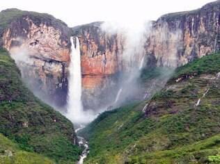 A mais alta cachoeira de Minas