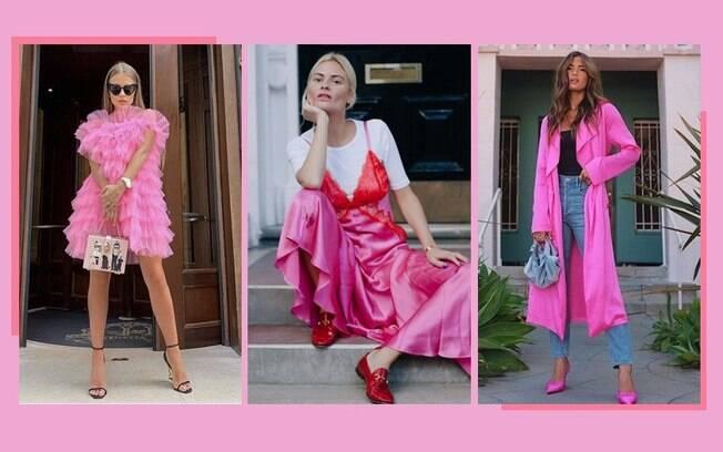 Rosa chiclete: saiba como usar a cor queridinha de 2021 nos seus looks