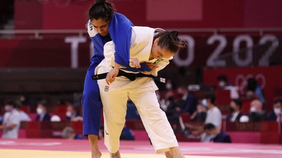 Maria Portela estreia com vitória nas Olimpíadas de Tóquio