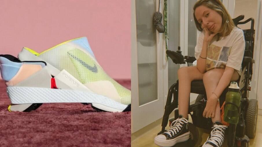 Tênis novo da Nike é adaptável para pessoas com deficiência