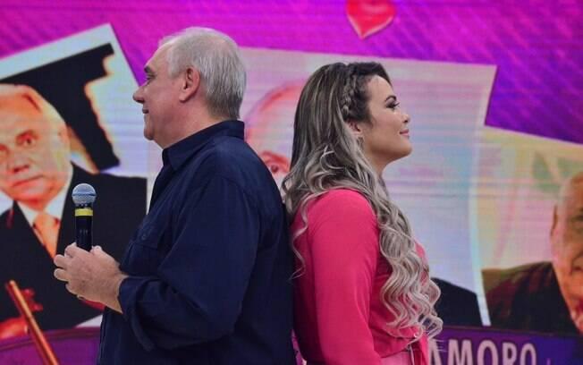 Geisy Arruda tenta conquistar Marcelo Rezende no