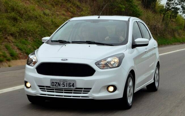 Ford Ka tem conjunto bem acertado, motor eficiente e baixo consumo de combustível