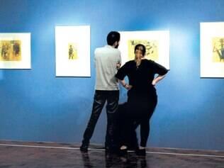 Espaços. Salão foi separado de forma a levar público a experimentar três núcleos da exposição