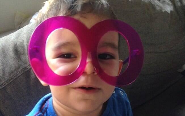 Franco tem 3 anos e foi diagnosticado com autismo