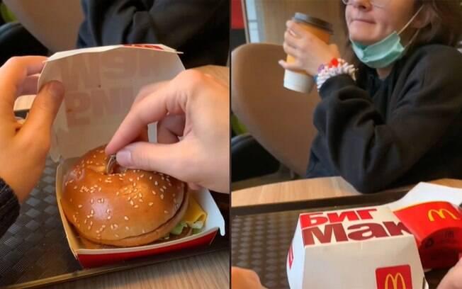 Homem pede a namorada em casamento no McDonald's