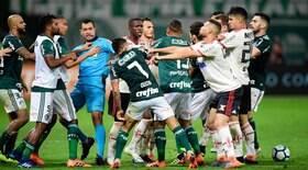 Palmeiras x Fla: brigas provam rivalidade