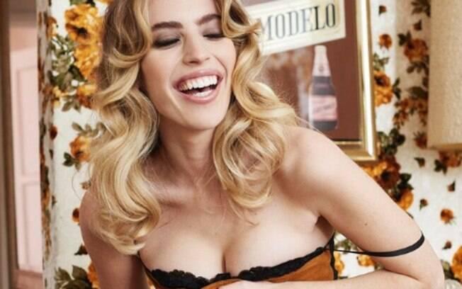 Clara McGregor,filha de Ewan McGregor faz ensaio nu para a Playboy
