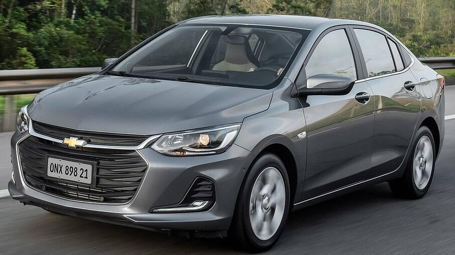 Chevrolet Onix Plus é um dos carros afetados pela falta de microchips semicondutores