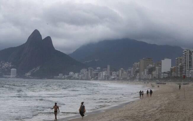 Rio tem previsão de chuva até sexta
