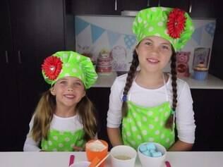 Irmãs de 8 e 5 anos faturam R$ 386 mil