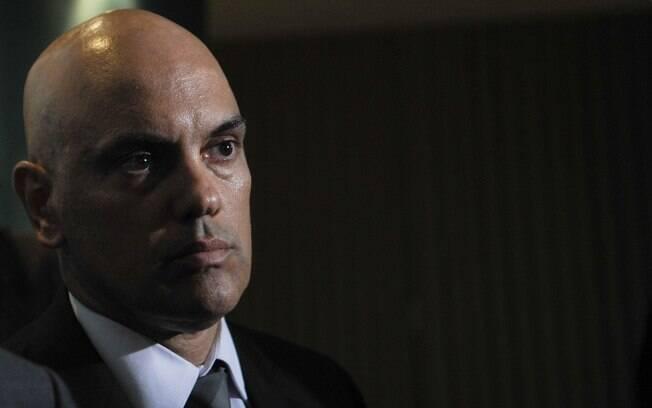 O secretário de Segurança Pública do Estado de São Paulo, Alexandre de Moraes