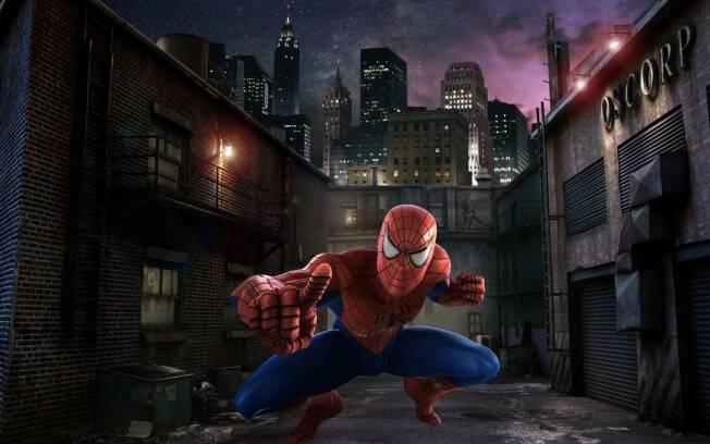 Uma das atrações mais concorridas da Universal Studios, o brinquedo The Amazing Adventures of Spiderman ganha alta definição e diferentes cenários