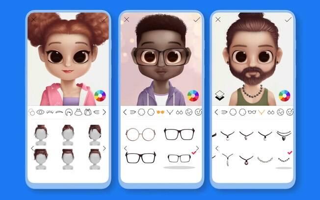 Fazer sua caricatura no app Dollify virou uma febre nas redes sociais