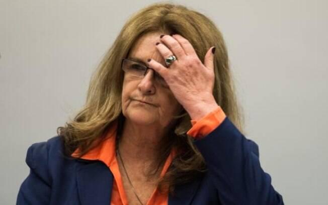 A ex-presidenta da Petrobras Graça Foster depõe na CPI da Câmara que investiga a estatal