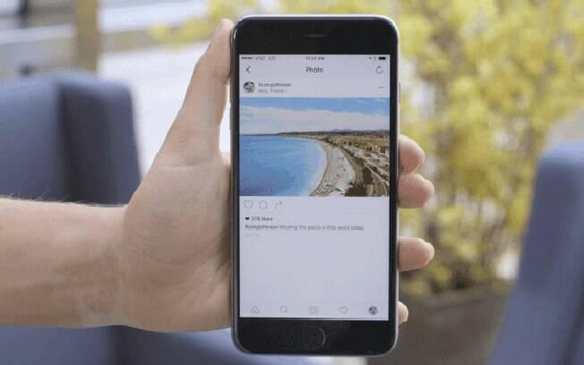 O Instagram não avisa ao usuário que sua foto ou vídeo publico foi enviado para alguém via WhatsApp