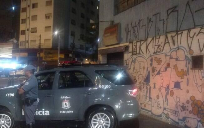 Cavalaria da PM domina o centro da capital e afasta a criminalidade