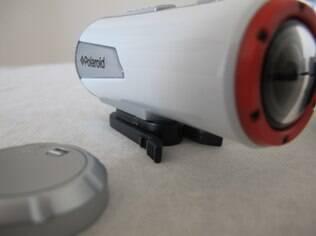 XS 100 Action vibra para alertar usuário sobre bateria fraca